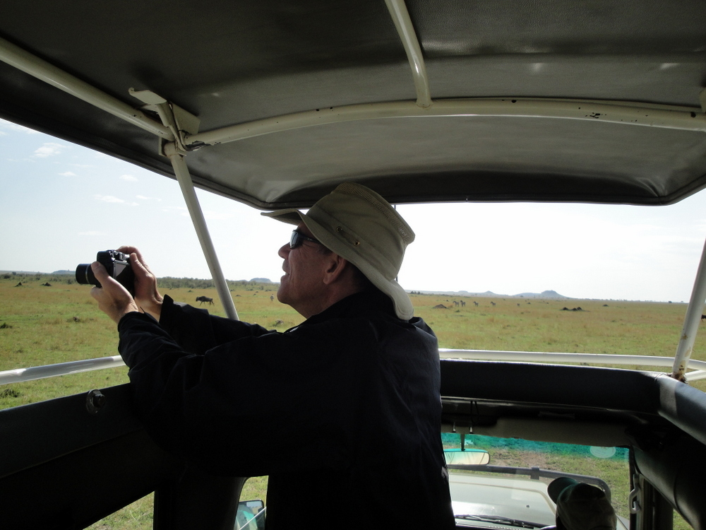 Client on Our Safari