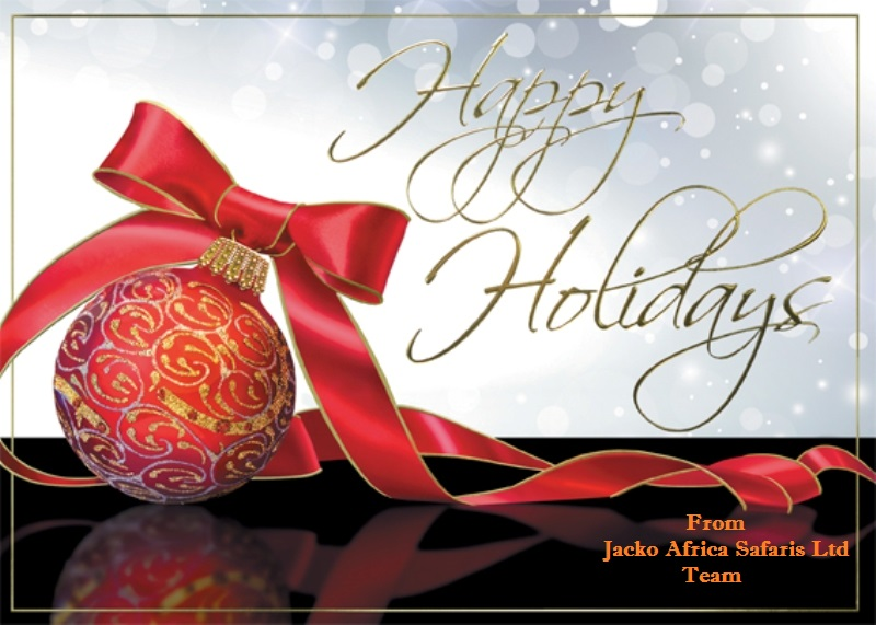 Merry Christmas & Happy 2016 from Jacko Africa Safaris