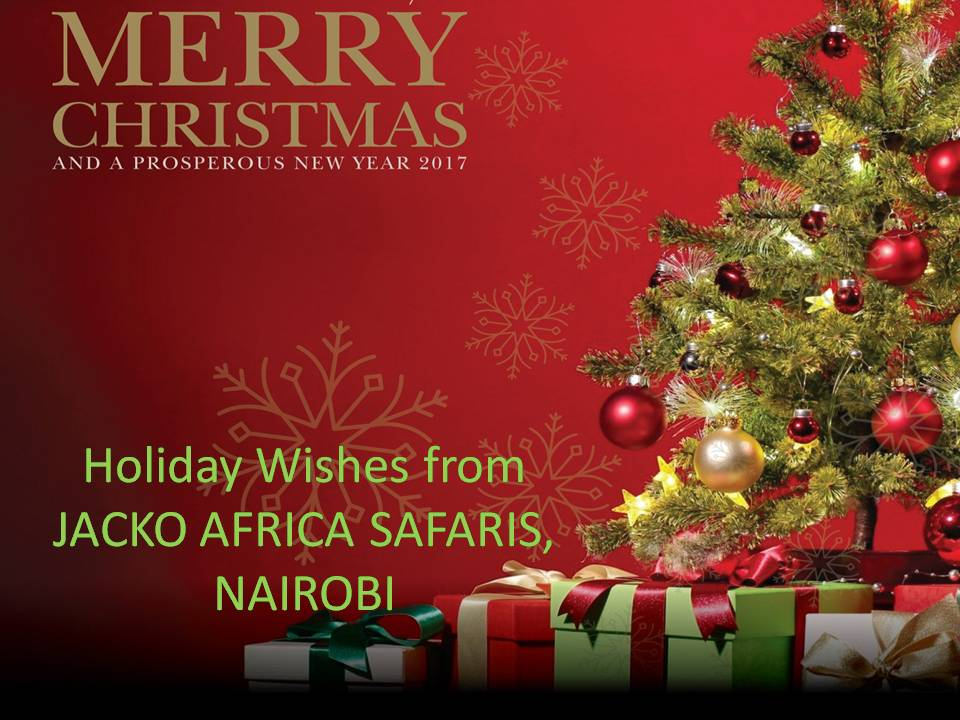 Holiday Wishes from JACKO AFRICA SAFARIS, NAIROBI