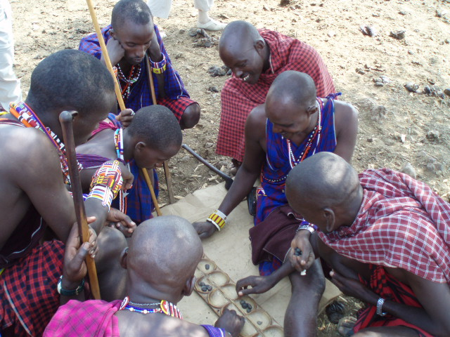 Maasai Having Fun!