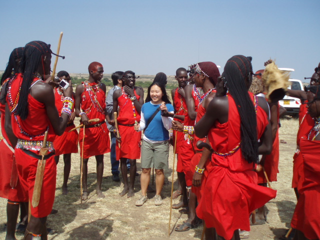 Maasai Warriors!